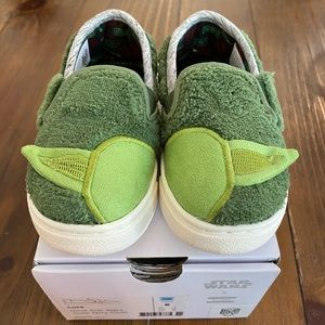 TOMS Baby Yoda Terry Cloth Shoes